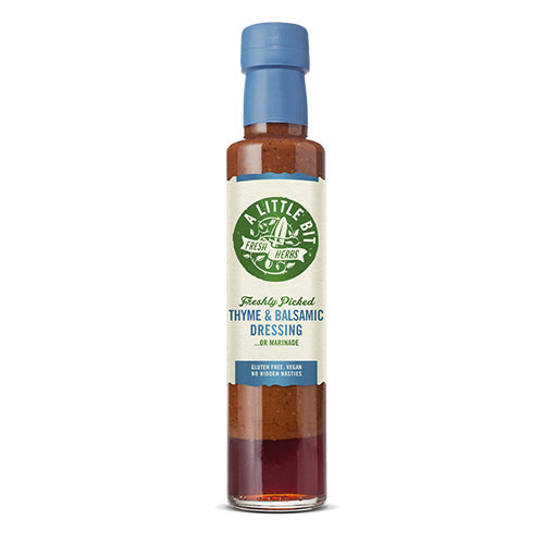 A Little Bit Food Co.Fresh Thyme & Balsamic Dressing 250ml   6