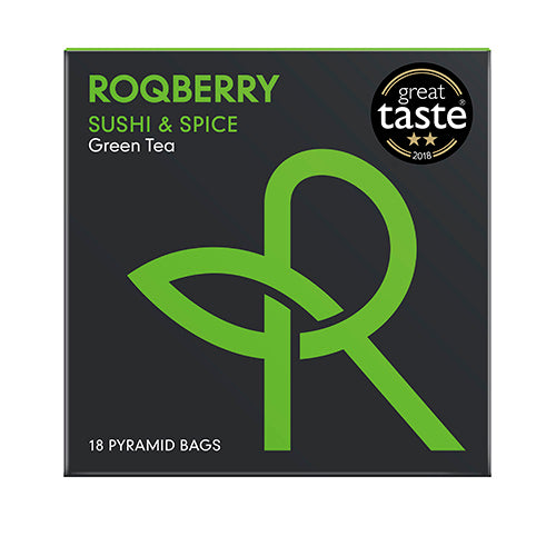 Roqberry Sushi & Spice - Green Tea 30g Box   6