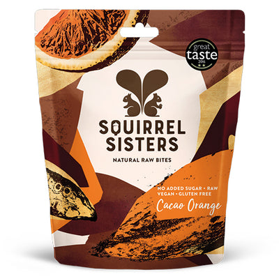 Squirrel Sisters Cacao Orange Share Bags   10
