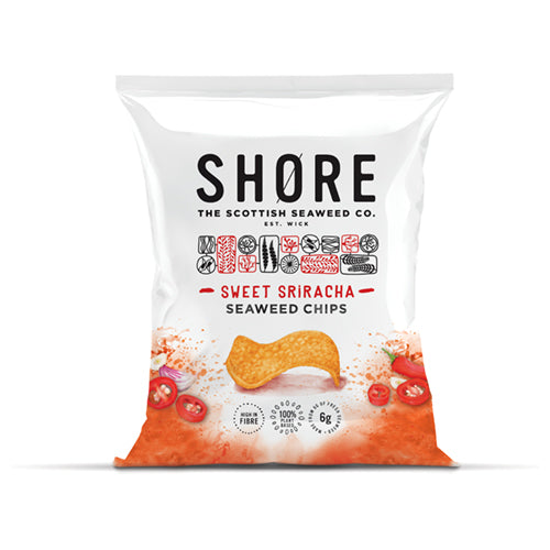 Shore Seaweed Chips - Sweet Sirarcha 25g   24