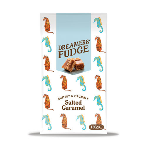 Dreamers' Salted Caramel Fudge 150g   8