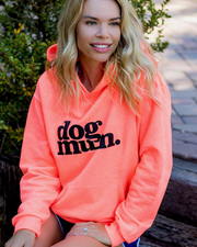 Dog Mum Orange Crush Hoodie