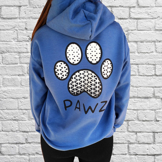 Hooded Indigo Visionary Print - Pawz