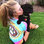 Short Sleeve Rainbow Sherbert Coin t-Shirt - Pawz
