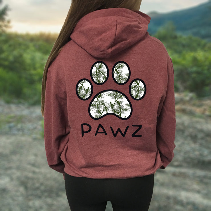 Hooded Brick Cedar Print - Pawz