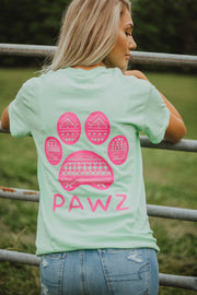 Short Sleeve Watermelon Tribal - Pawz