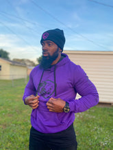 Load image into Gallery viewer, Fearless_Me Hoodie/Purple