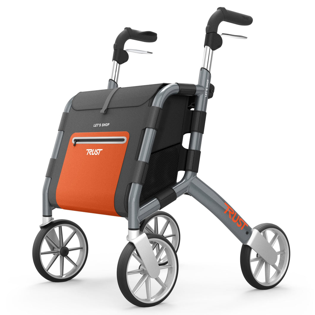 TrustCare Let's Shop Shopper rollator