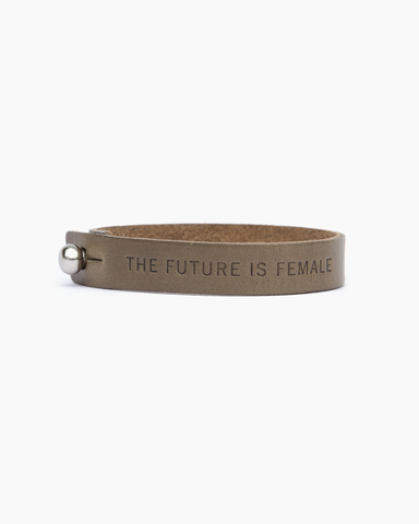 """Future is Female"" Statement Bracelet"