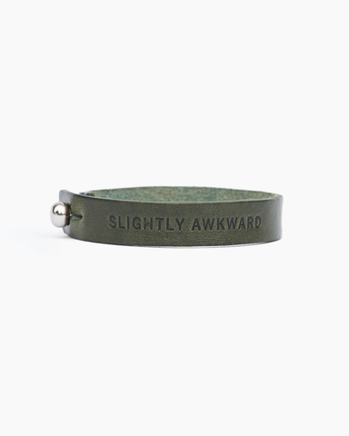 """Slightly Awkward"" Statement Bracelet"