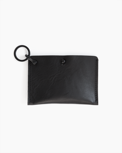 Matte Black Keychain Card Case - Limited