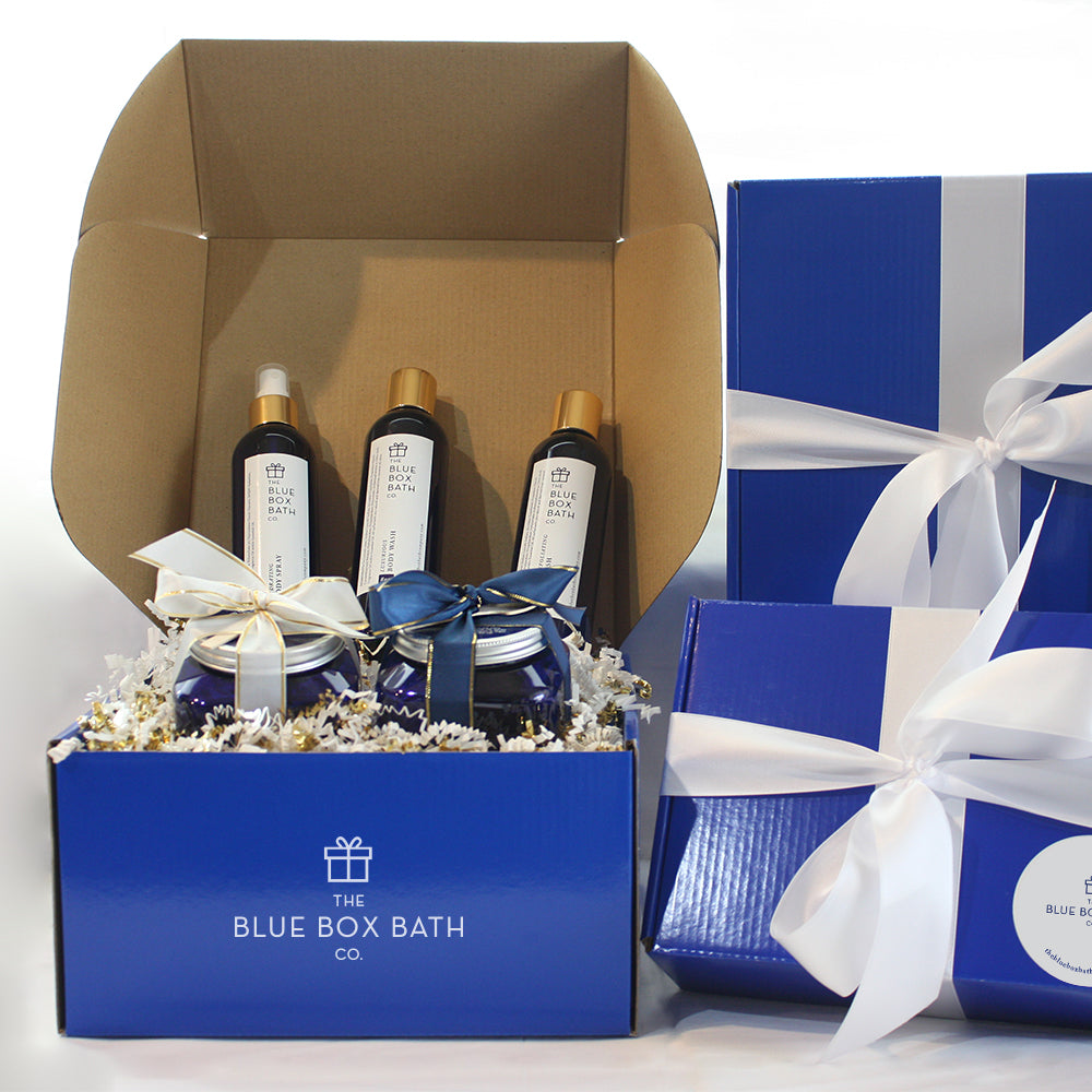 Curated Box: The Blue Box Bath Co. Experience