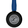 Estetoscopio Littmann Cardiology IV - 6168 Navy Blue Black Edition
