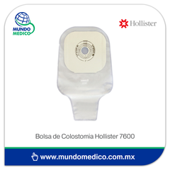 Bolsa de Colostomía Hollister Cerrada 7600 Recortable 51 mm - 30 Piezas