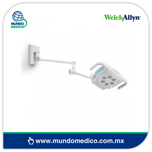 WA44900-W Lámpara GS900 con Montaje de Pared Welch Allyn