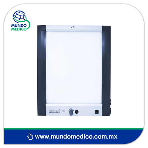 Negatoscopio Plano, una Placa LED 6300 Lux Marca GreenLed (GLTB1-H1)