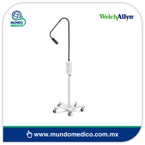 WA48810/48950 Lámpara GS IV Exam Light con Pedestal Welch Allyn