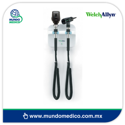 WA77710-71ML Transformador de Pared con Oftalmoscopio y Otoscopio Macroview de  Welch Allyn
