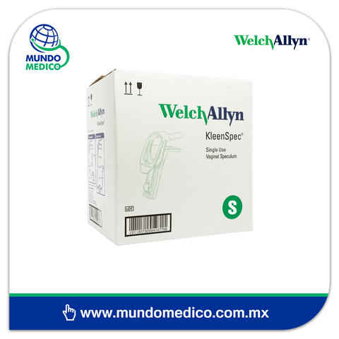 WA59000 Espéculo Vaginal KleenSpec Welch Allyn Chico - 24 Piezas