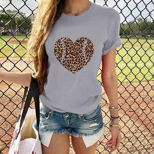 Blouse character conventional printing Micro-elasticity Cotton-Blend Summer Casual
