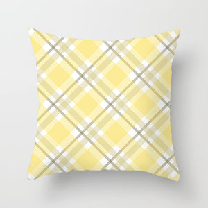 Scottish Red Plaid Pillowcase