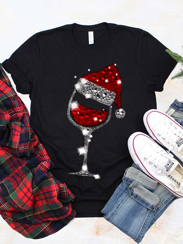 Wine Christmas Classic T-Shirt