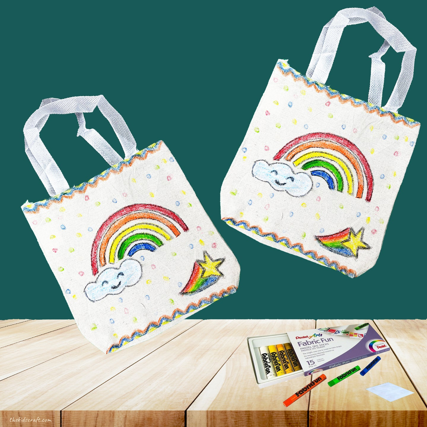 Reusable Tote Bag DIY Craft (Bundled for 2)