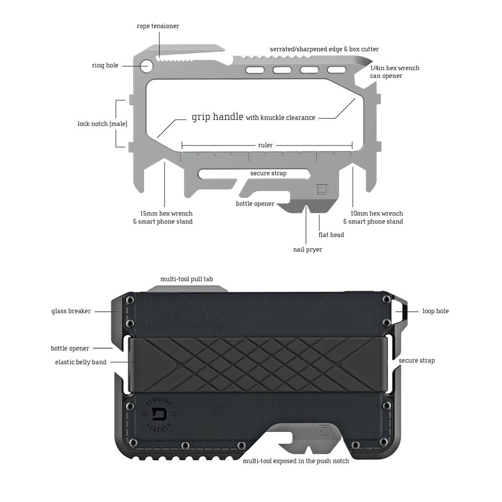 Dango T01 Tactical Wallet - Image 15