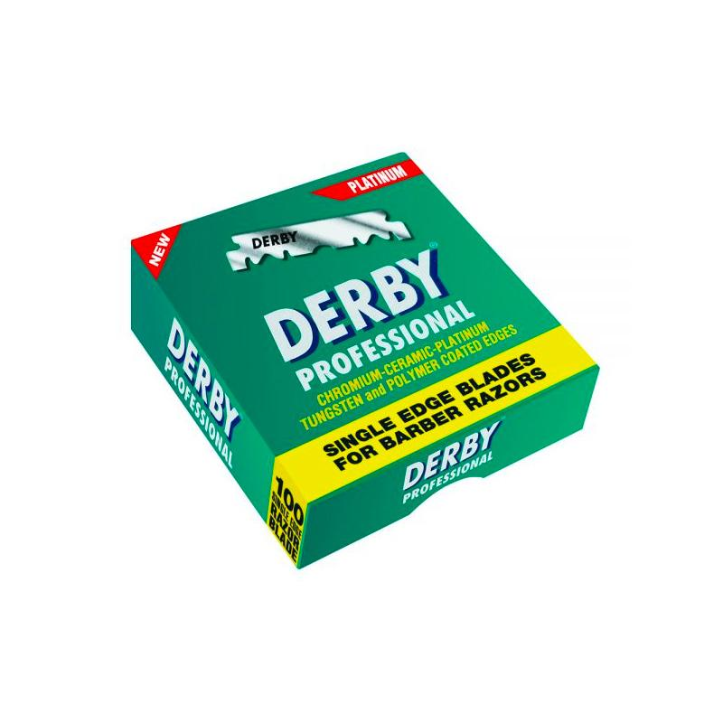 Derby Professional Single Edge Blades (100 pcs) - Image 1