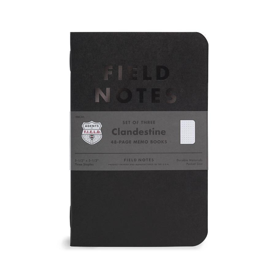 Field Notes Clandestine Memo Book (3-Pack) - Image 1