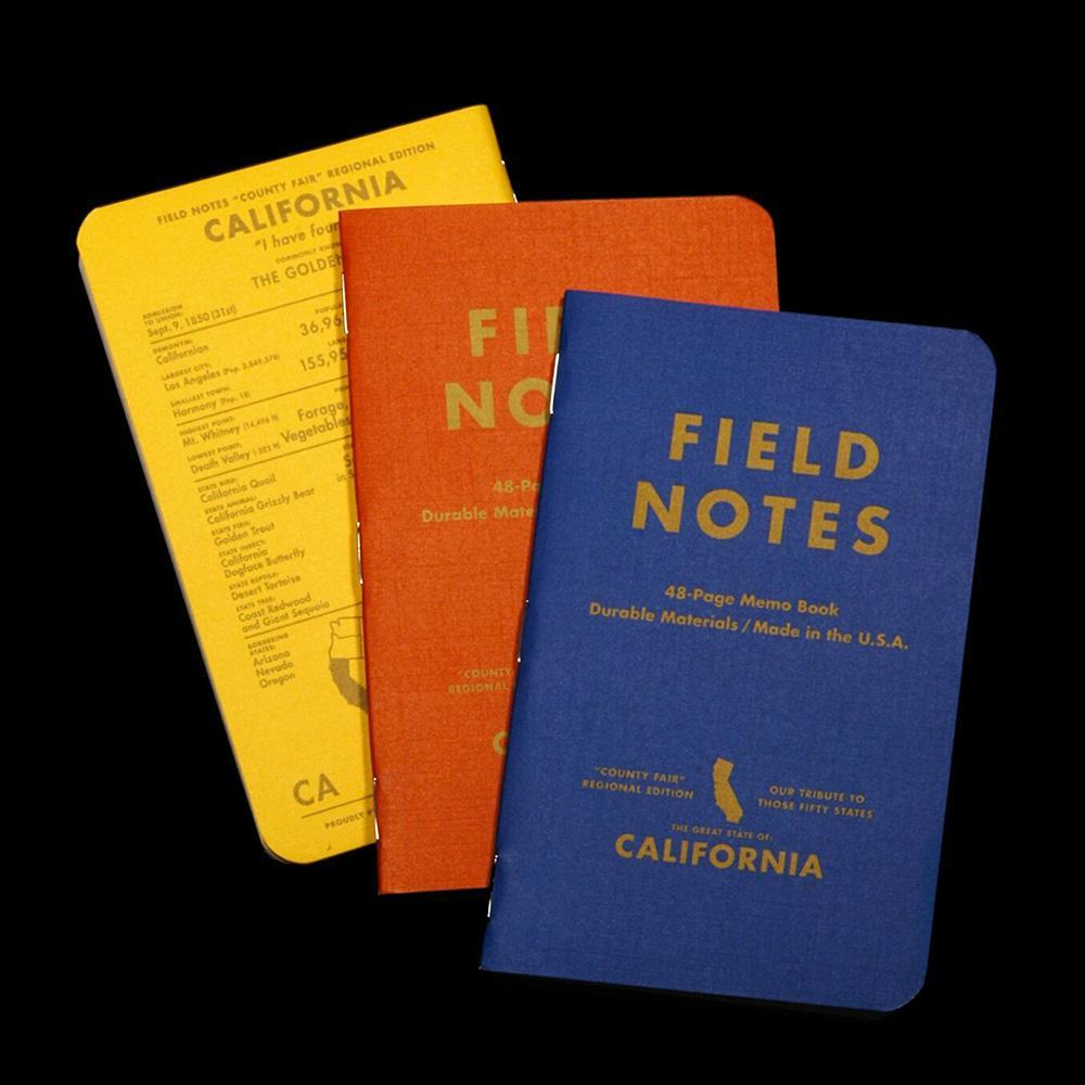 Field Notes County Fair Memo Book (3-Pack) - Image 1