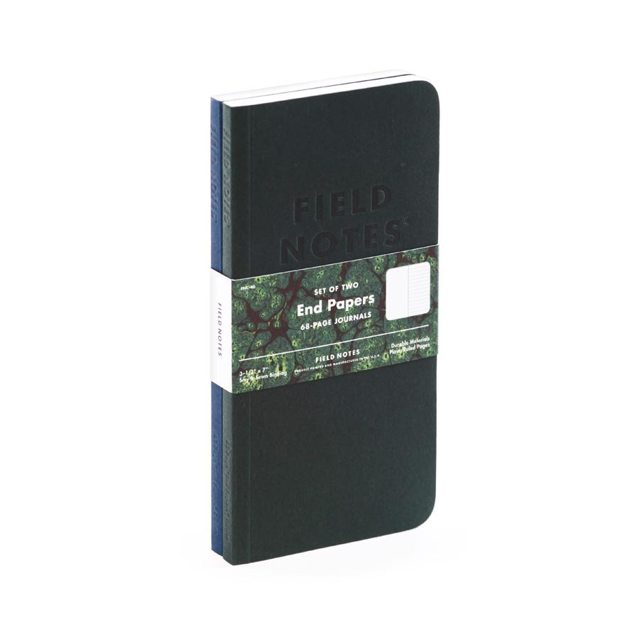 Field Notes End Papers Journal (2-pack) - Image 1