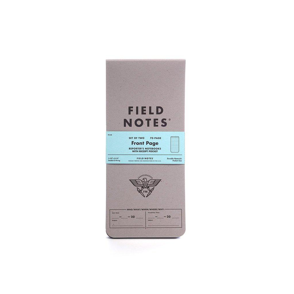 Field Notes Front Page Reporter's Notebooks (2-pack) - Image 1