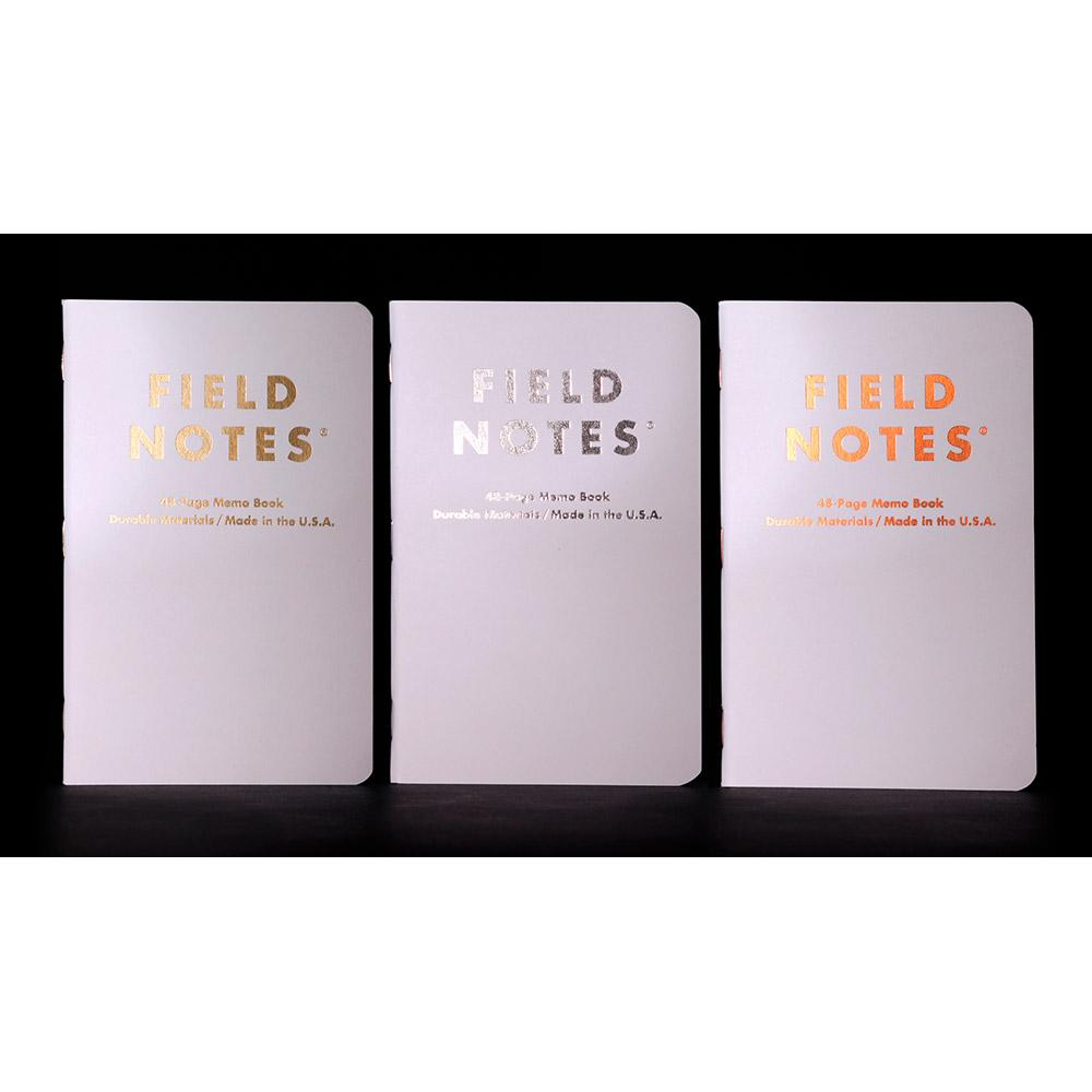 Field Notes Group Eleven Memo Book (3-pack) - Image 3