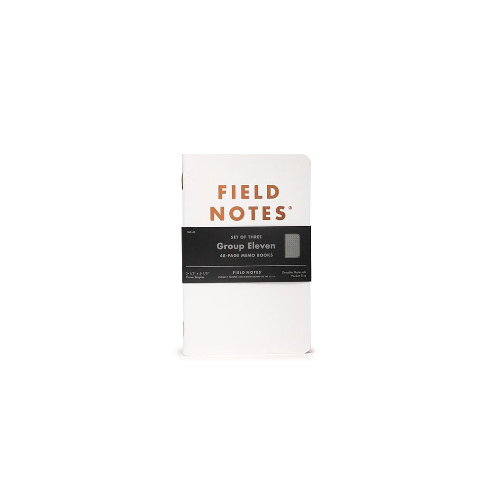 Field Notes Group Eleven Memo Book (3-pack) - Image 4