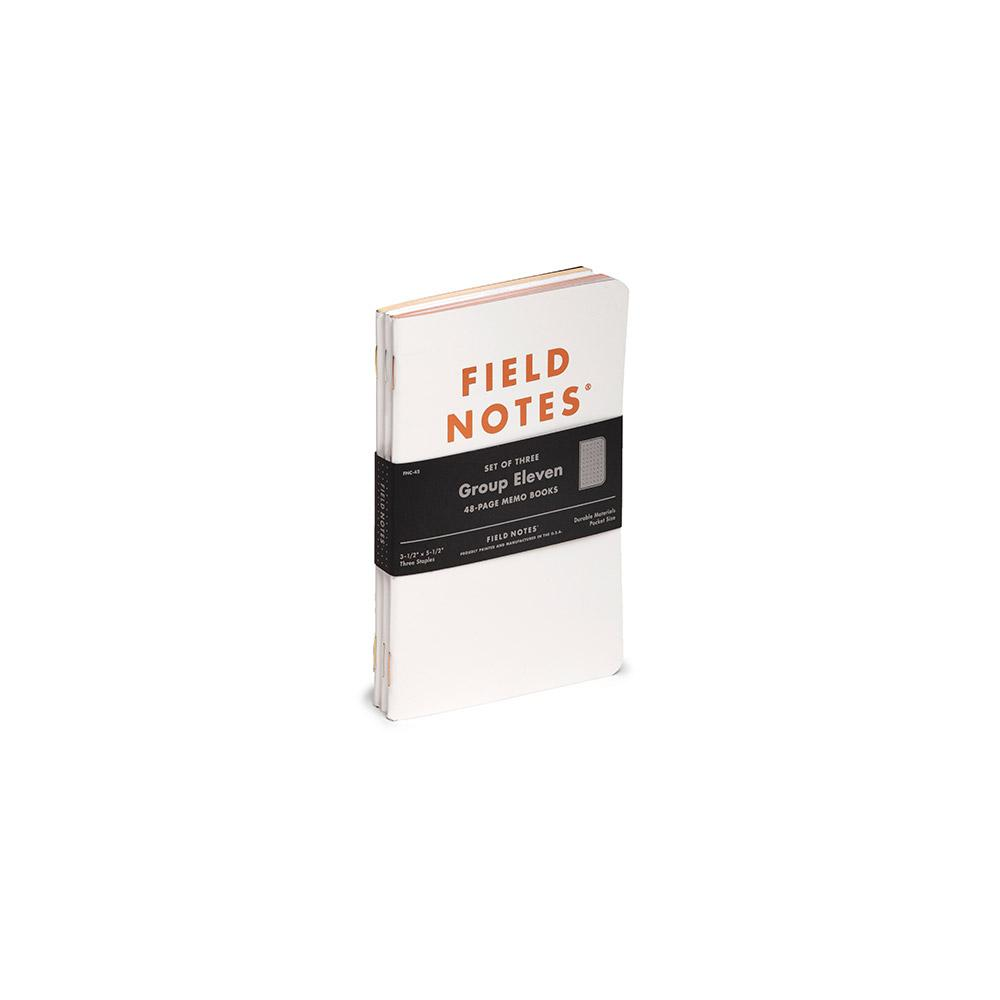 Field Notes Group Eleven Memo Book (3-pack) - Image 1