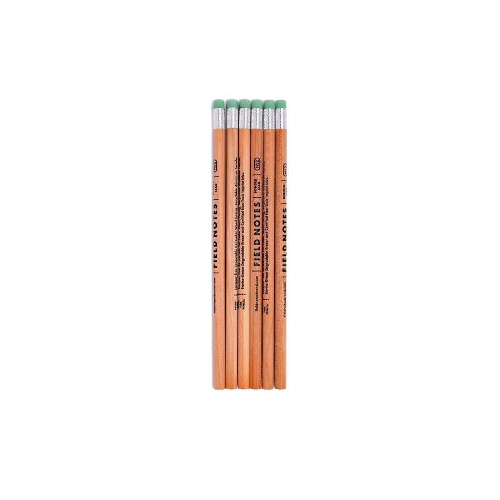 Field Notes No. 2 Woodgrain Pencil (6-Pack) - Image 1
