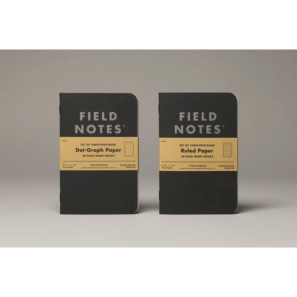 Field Notes Pitch Black Memobook (3-Pack) - Image 4