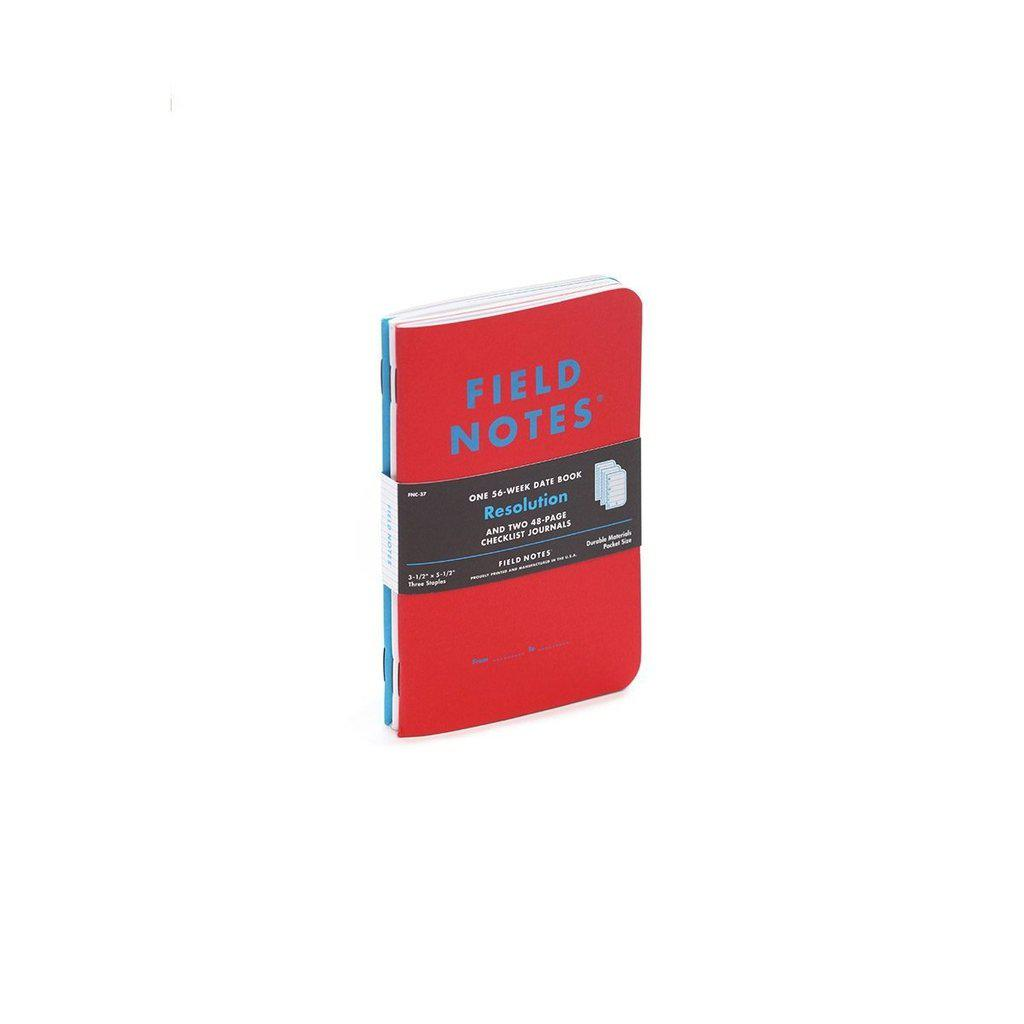 Field Notes Resolution -Checklist & Date Books (3-pack) - Image 1
