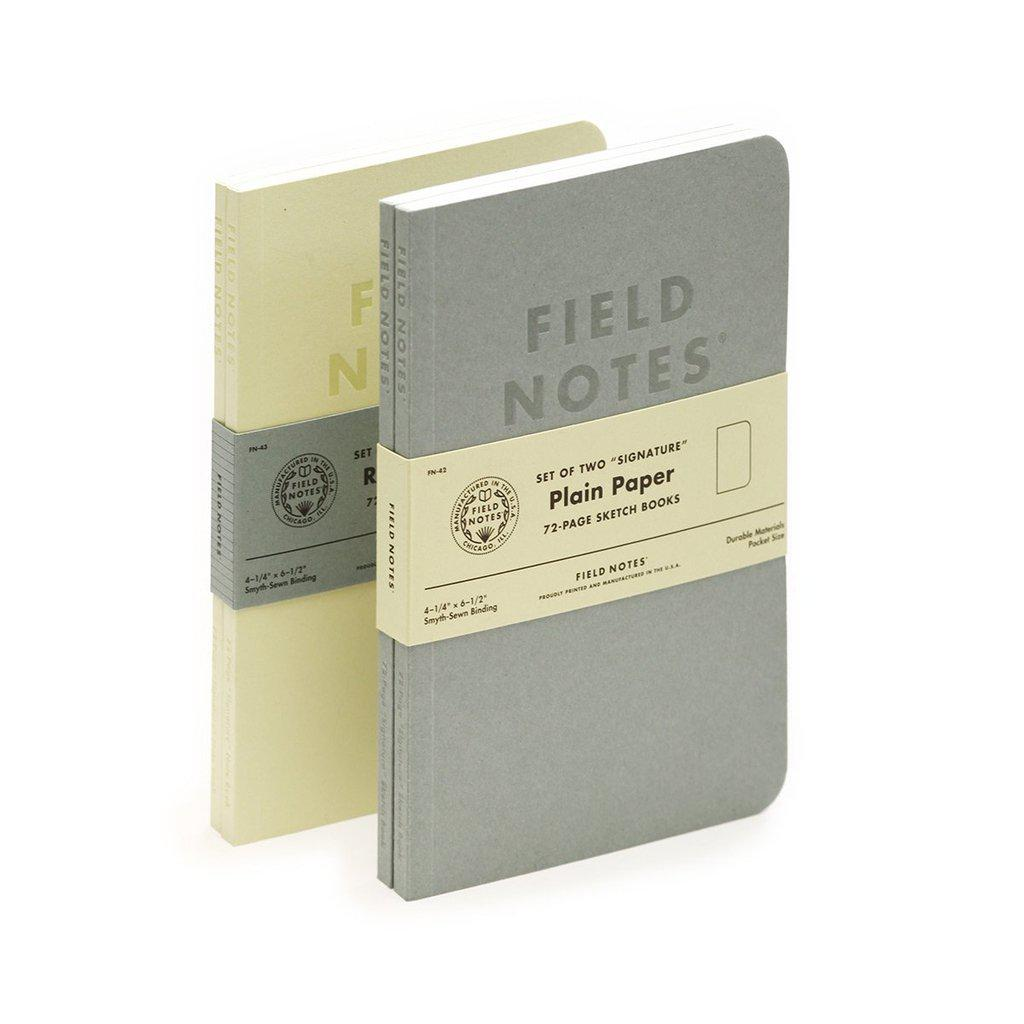 Field Notes Signature -memo book (2-pack) - Image 1