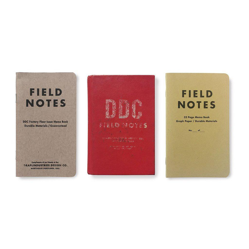 Field Notes Tenth Anniversary Edition Notebook (3-pack) - Image 1