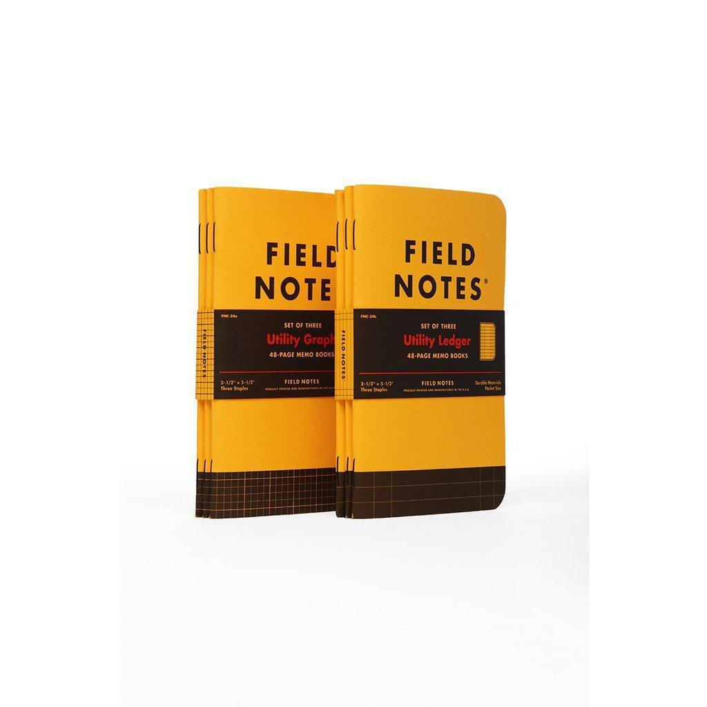 Field Notes Utility memo book (3-pack) - Image 1