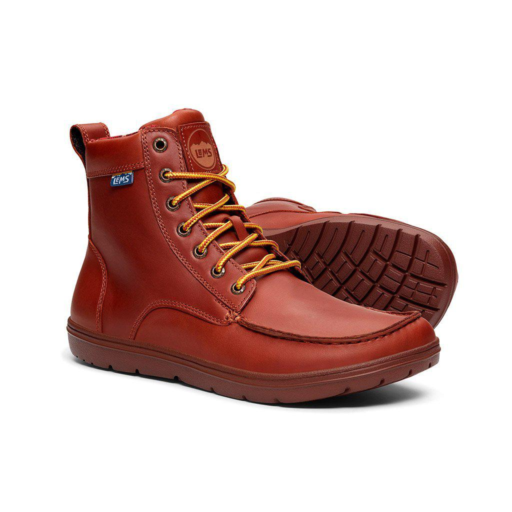 Lems Shoes Boulder Boot Leather - Image 1
