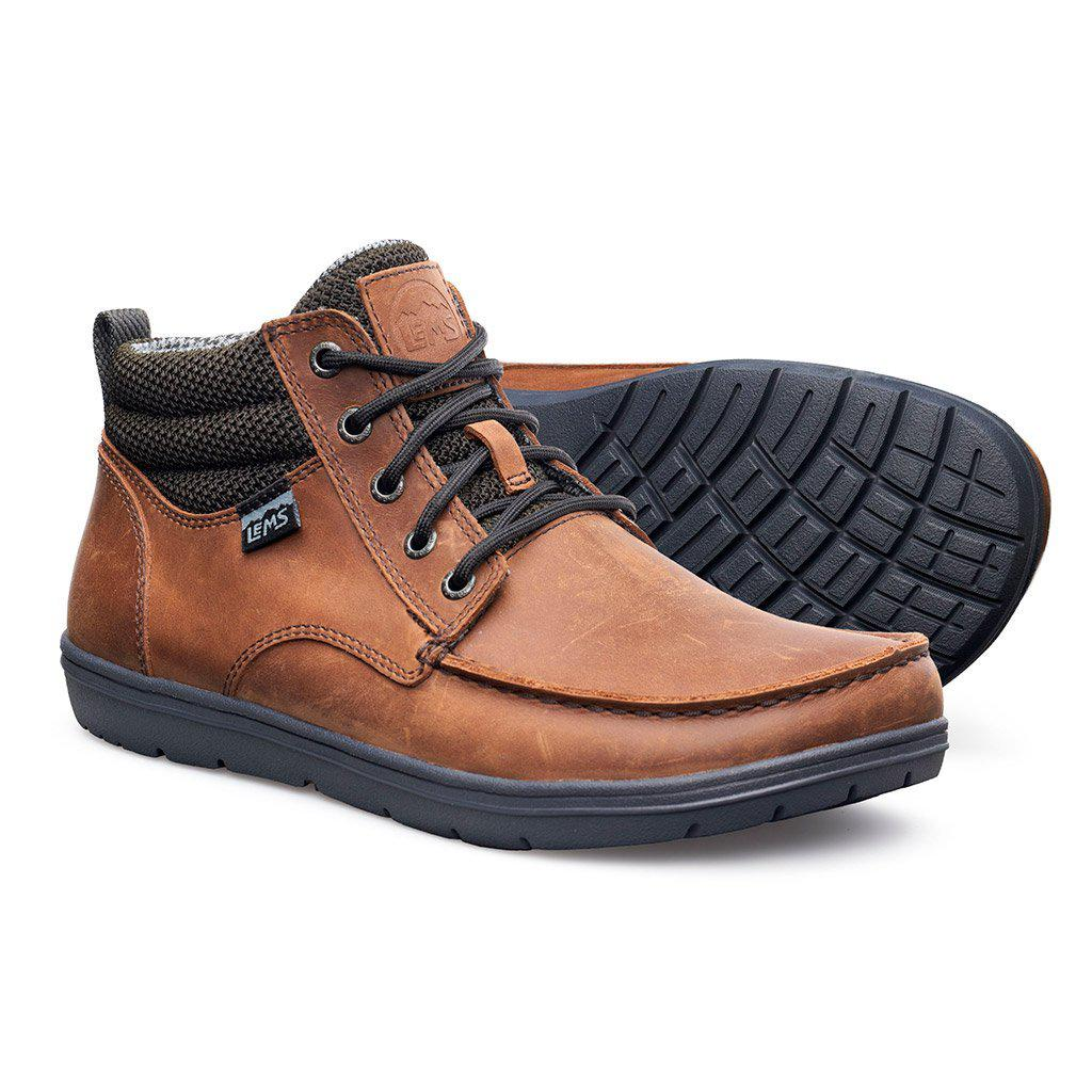 Lems Shoes Boulder Boot Mid Leather - Image 1