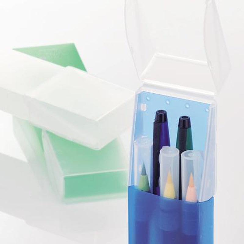 Lihit Lab Aqua Drop Slide Pen Case - Image 2