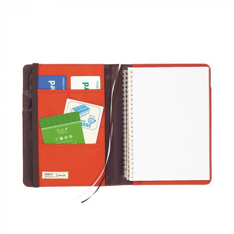 Lihit Lab Smart Fit Cover Notebook - A5 - Image 1