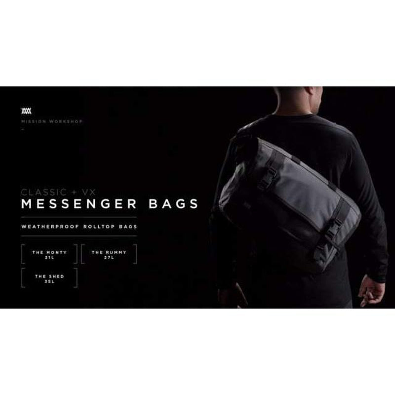 Mission Workshop The Monty Messenger Bag - Image 1