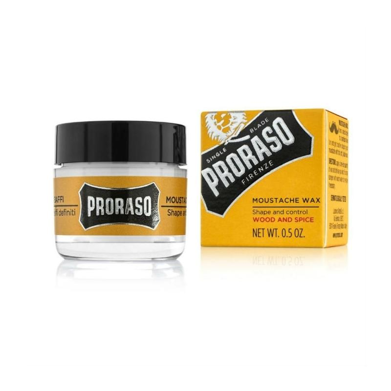 Proraso Wood & Spice Moustache Wax - Image 1