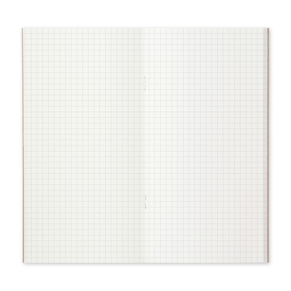 Traveler's Company - 002 Grid Notebook Refill (Regular) - Image 3