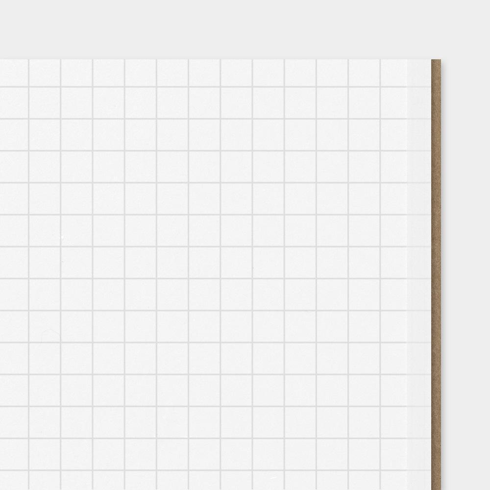 Traveler's Company - 002 Grid Notebook Refill (Regular) - Image 4